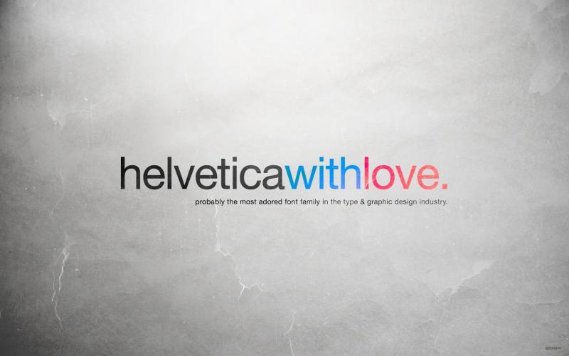 Helvetica4ever #helvetica #fonts #design www.